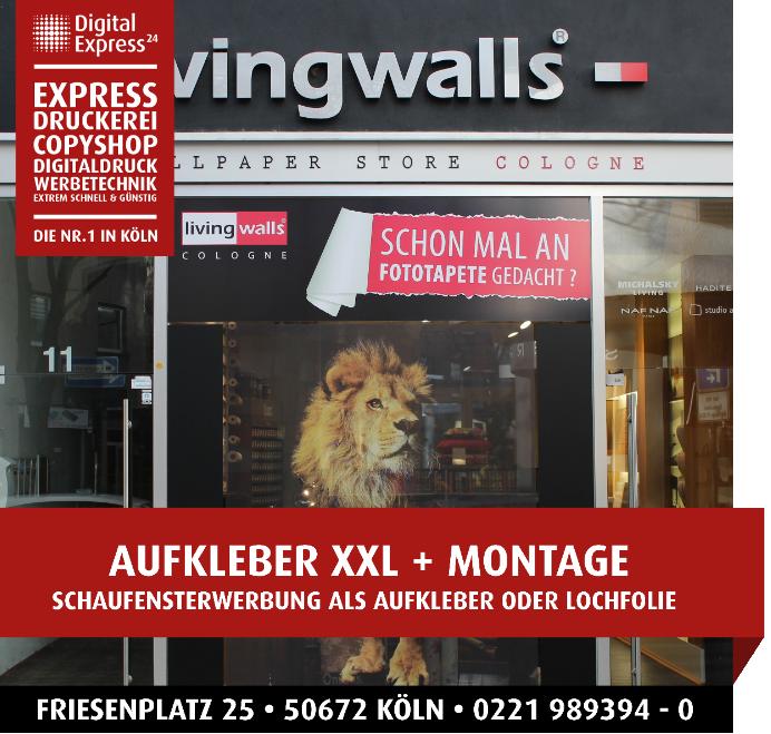Foto de Express Druckerei+Copyshop Nr. 1 in Köln: Digital Express 24 Köln