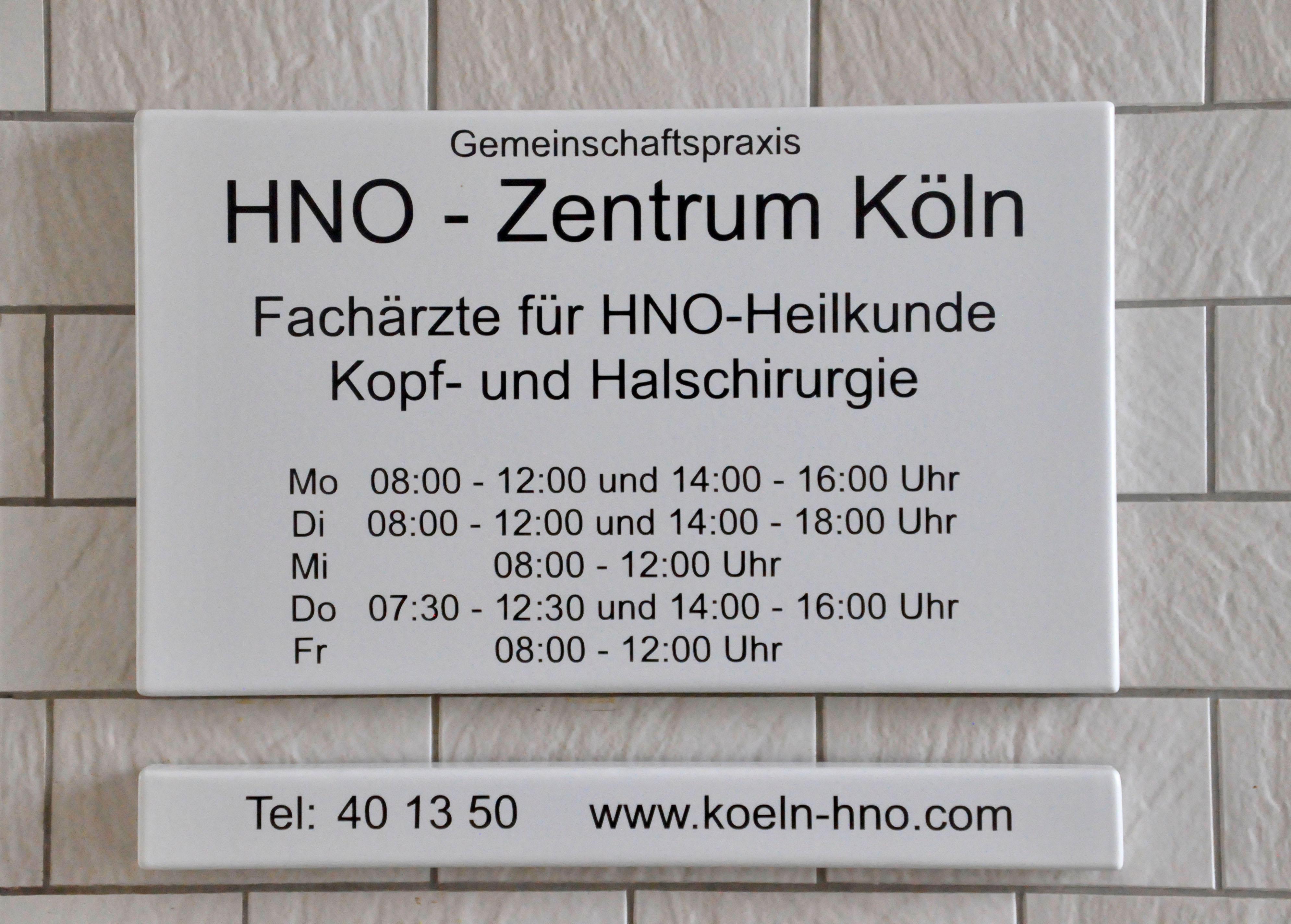 HNO-Zentrum Köln-Lindenthal - Dr. med. Christian Schröder