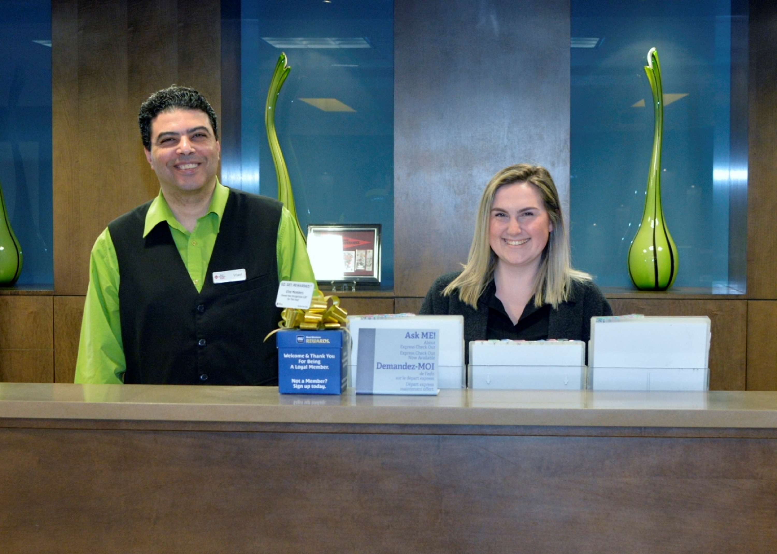 Reception Best Western Plus Winnipeg West Headingley (204)594-2200