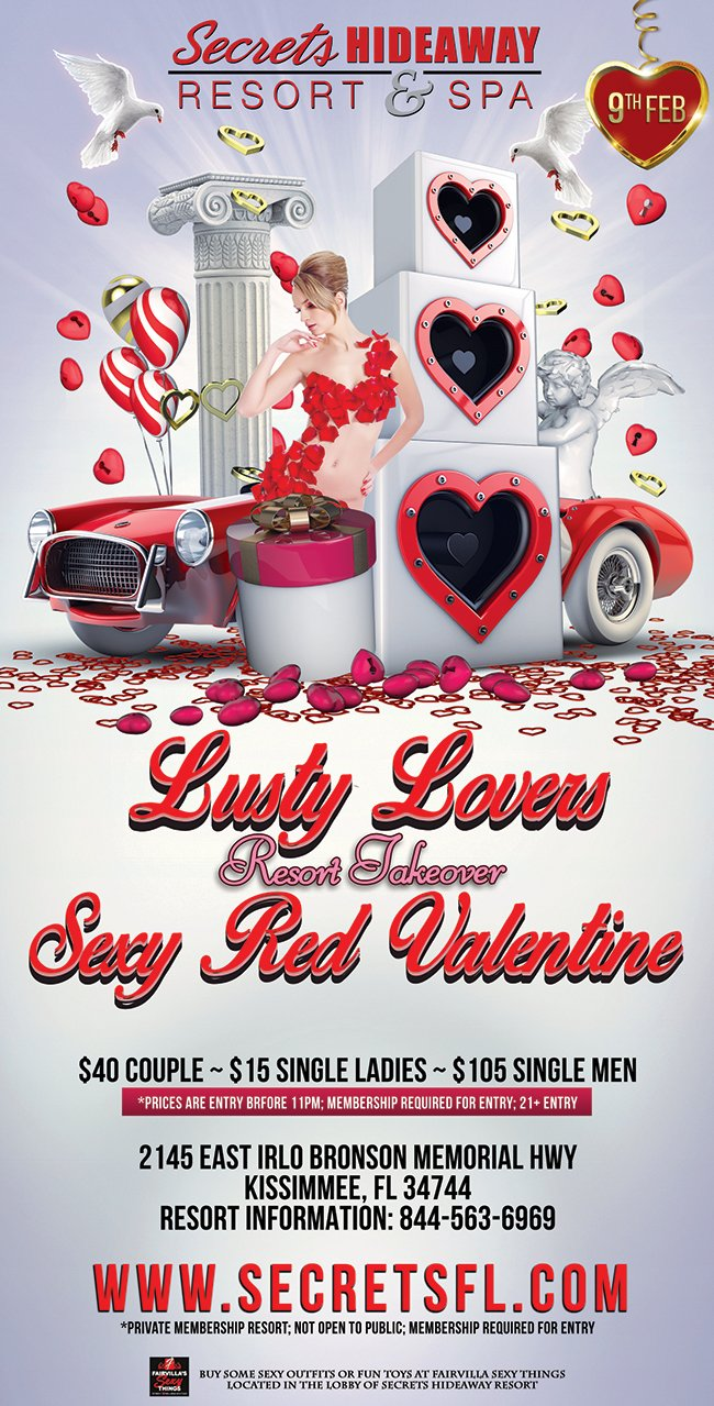 Lusty Lovers Valentine Takeover 2019