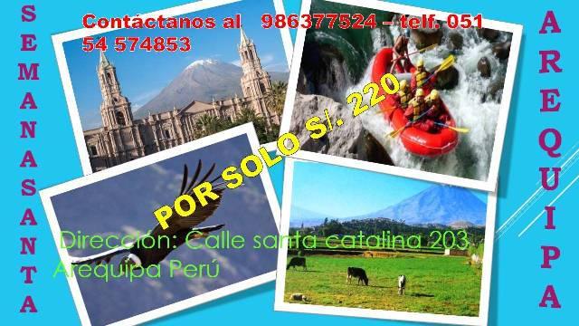 Peruvian Holiday Tour Operator Arequipa