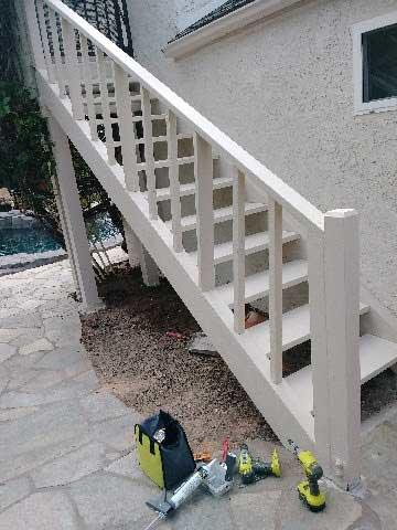 Termite Damage Stairs Repairs