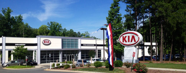 Fred anderson kia of raleigh coupons near me in raleigh for Kia motors near me