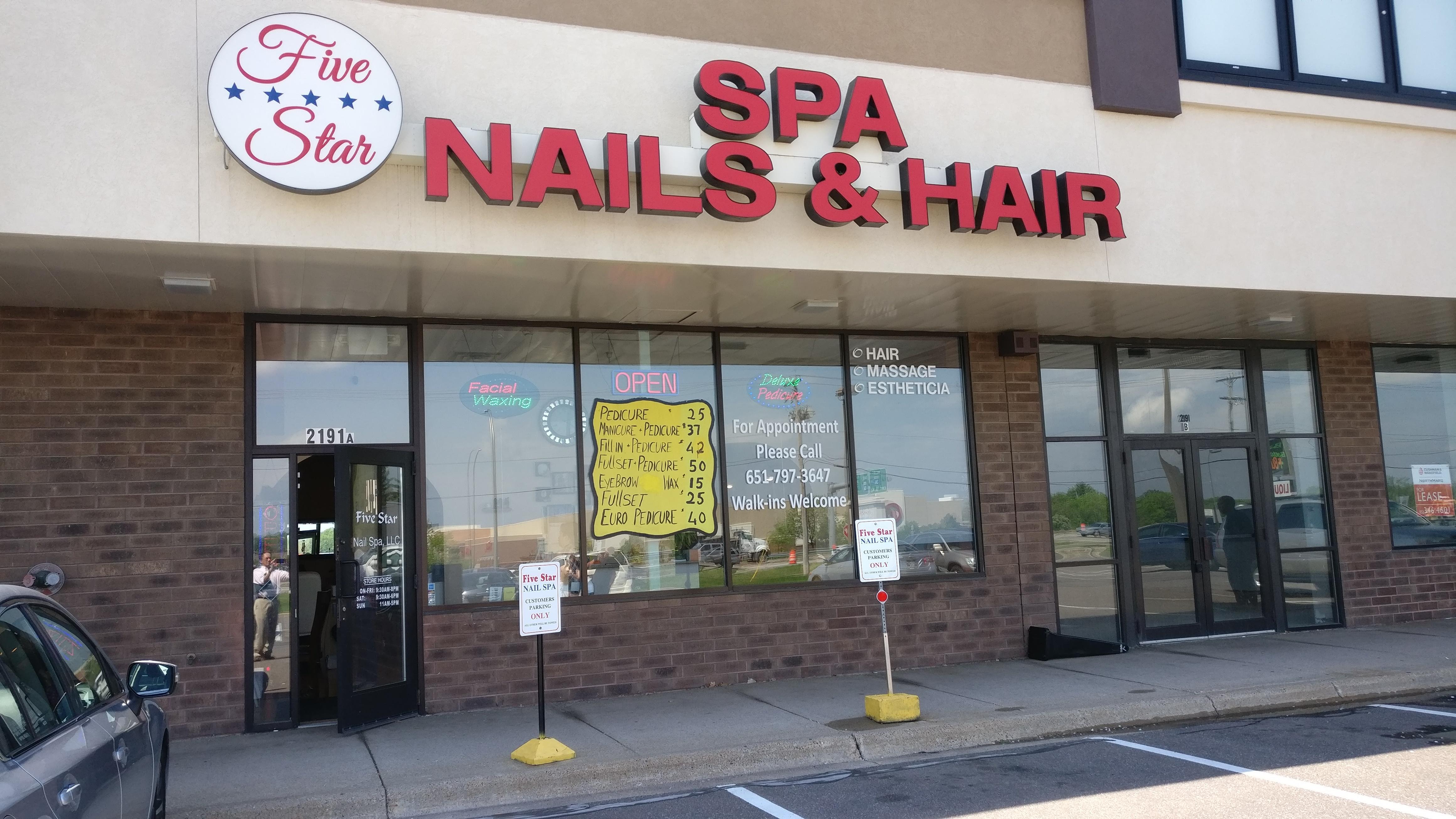 Five Star Nails & Hair Spa in Saint Paul, MN 55113 ...