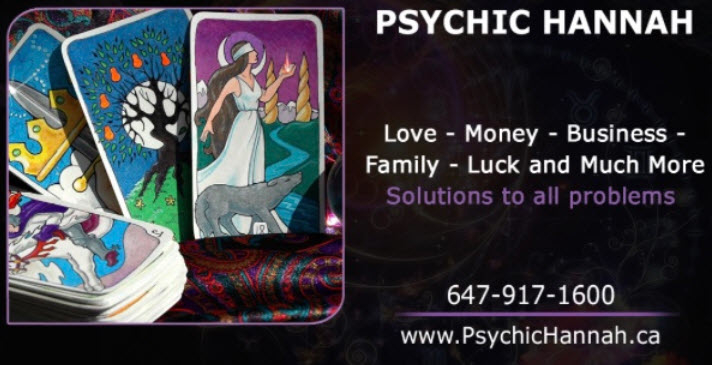 Psychic Readings By Hannah