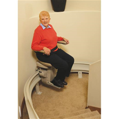 Bruno Custom Curve CRE-2110 Stair Lift