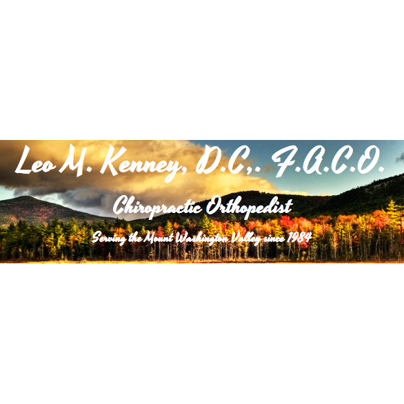 Leo M. Kenney D.C North Conway Chiropractic Center