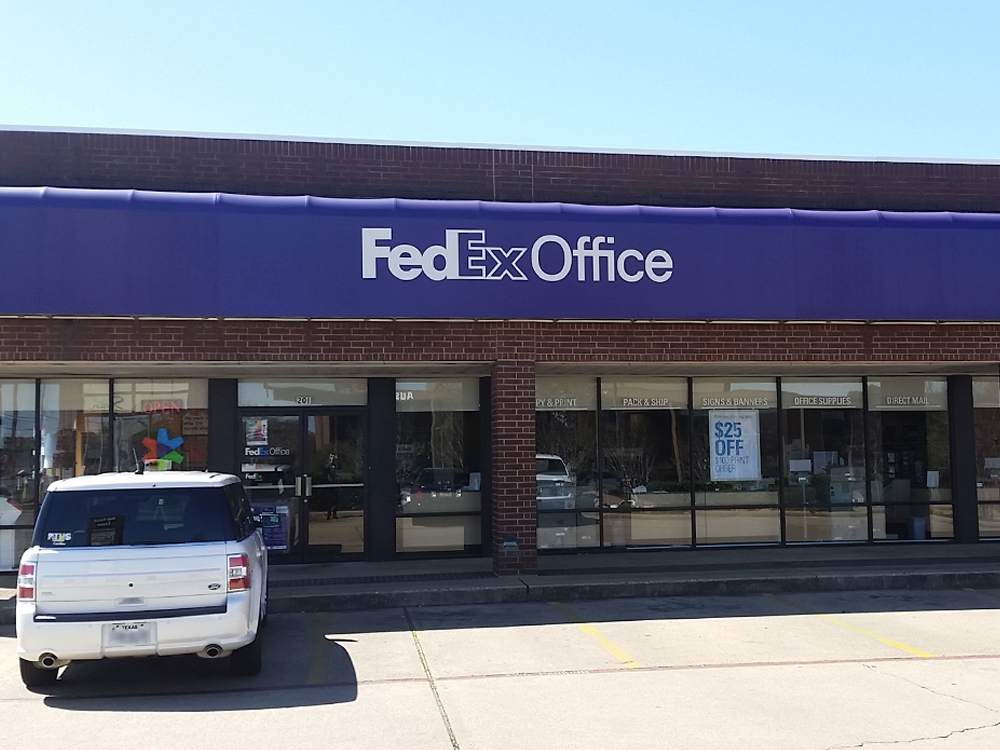 Fedex office print ship center longview texas tx for Fedex color printing per page