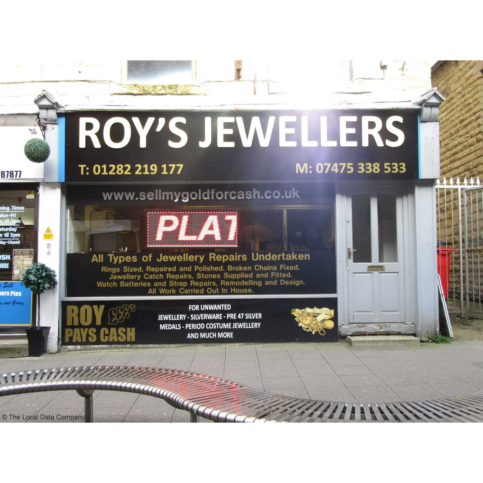 Roy's Working Jewellers - Burnley, Lancashire BB11 2EE - 01282 219177 | ShowMeLocal.com