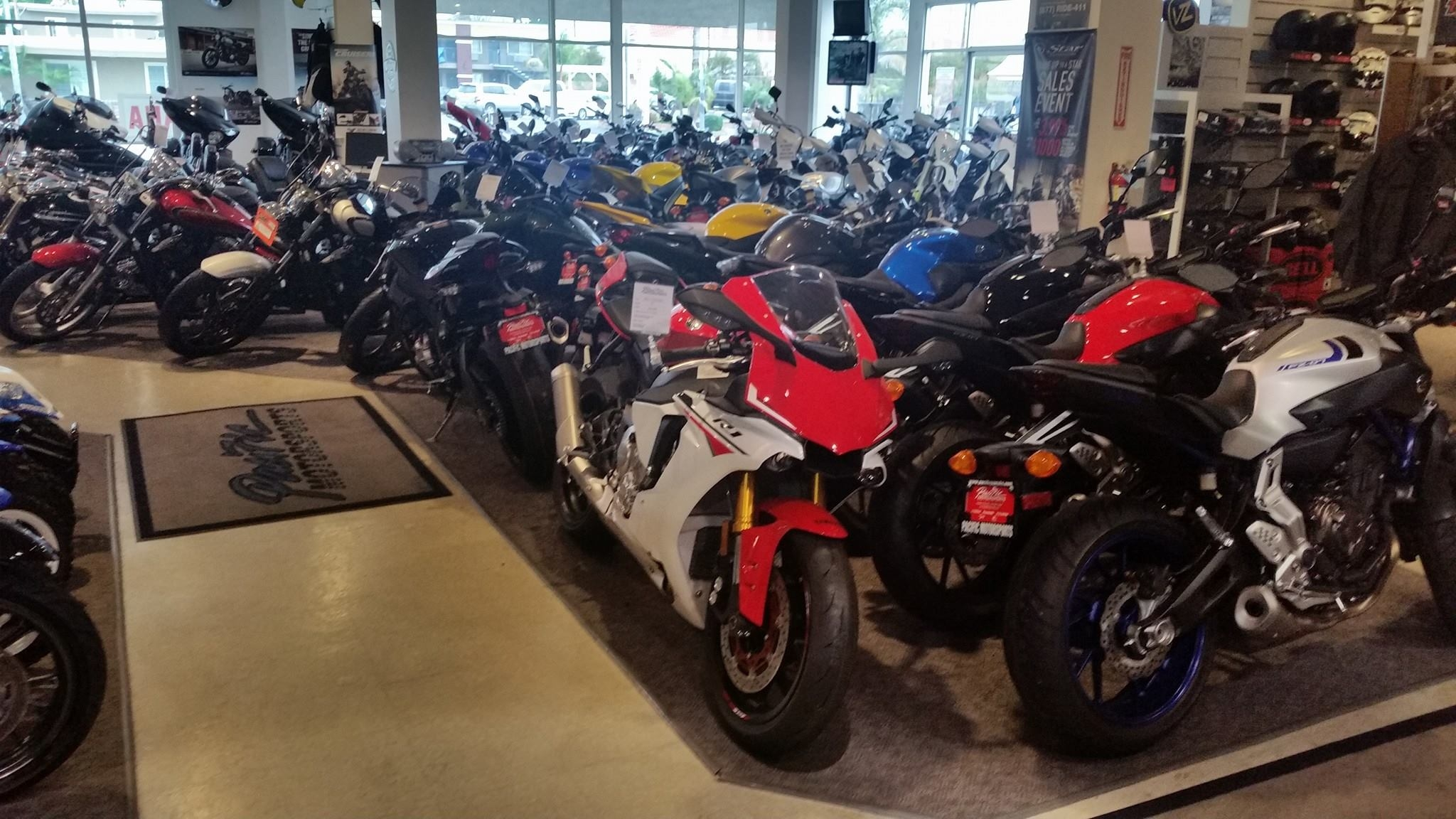 Pacific Yamaha Motorsports Harbor City Ca