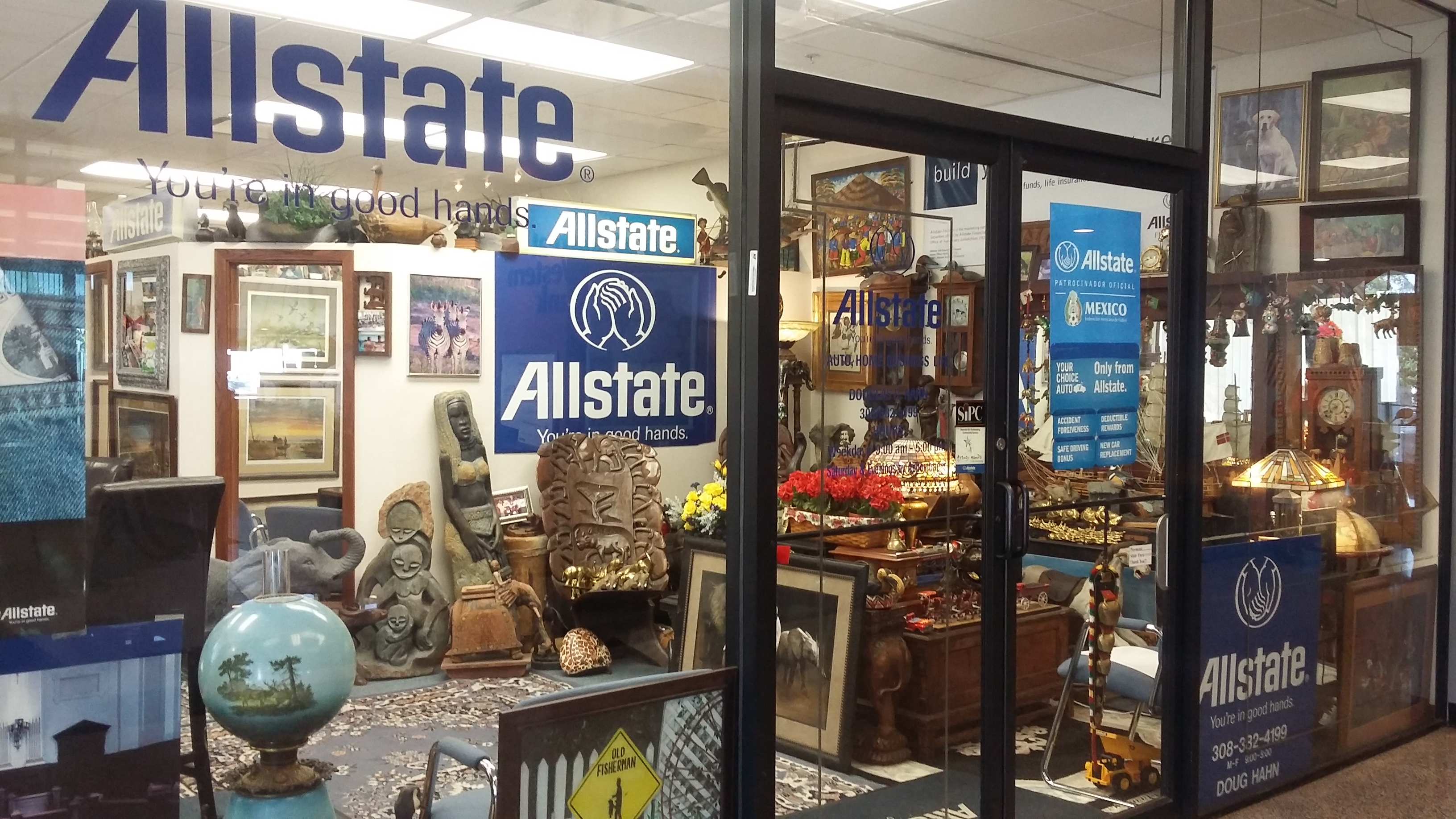 Allstate insurance agent douglas d hahn coupons grand for Allstate motor club discount code