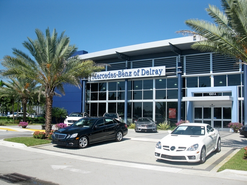Mercedes benz of delray delray beach florida fl for Florida mercedes benz