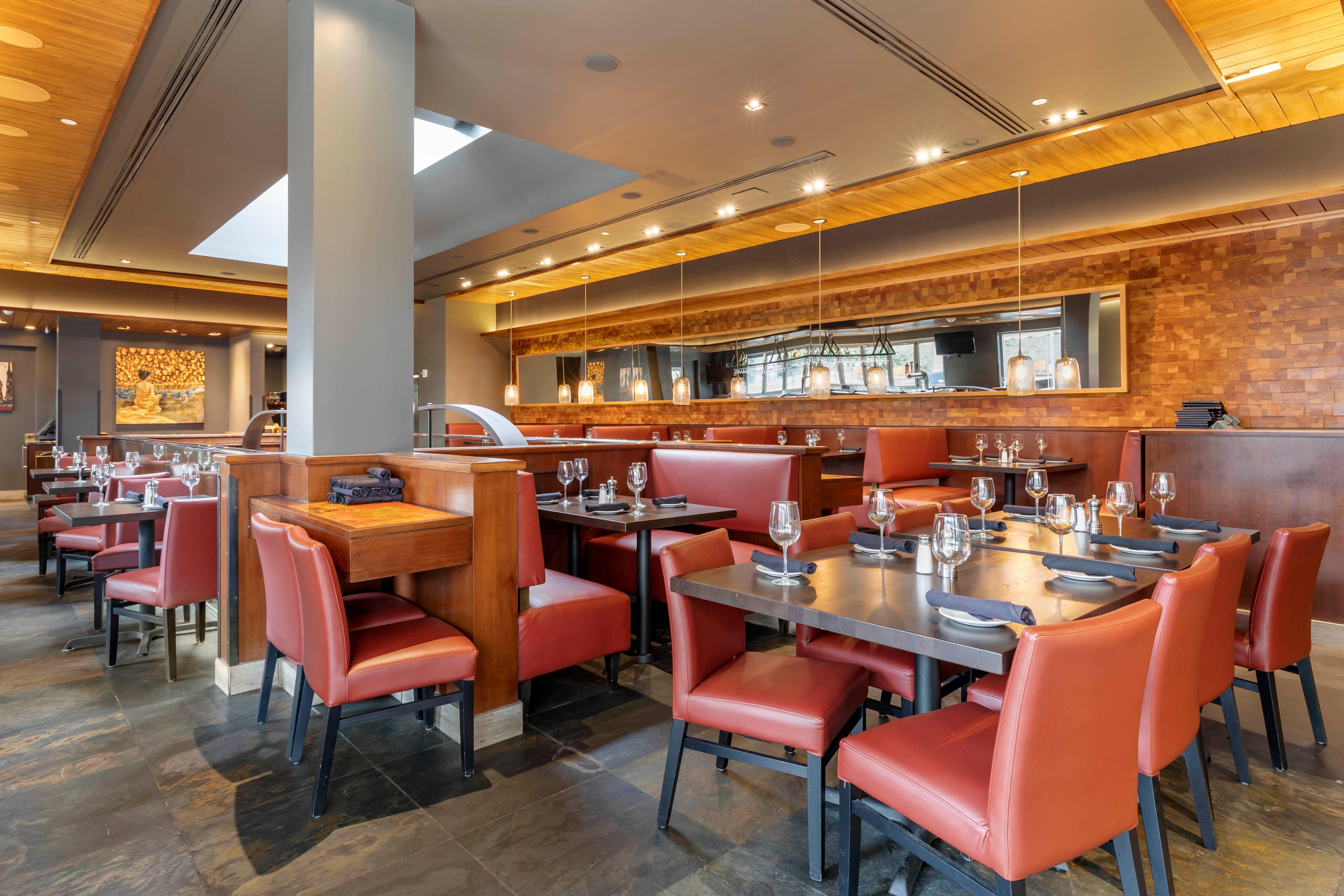 Del Frisco's Grille Dallas Sky Room group dining room
