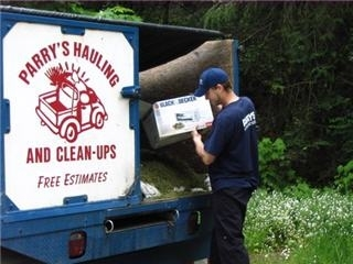 Parry's Hauling & Junk Removal in Brentwood Bay