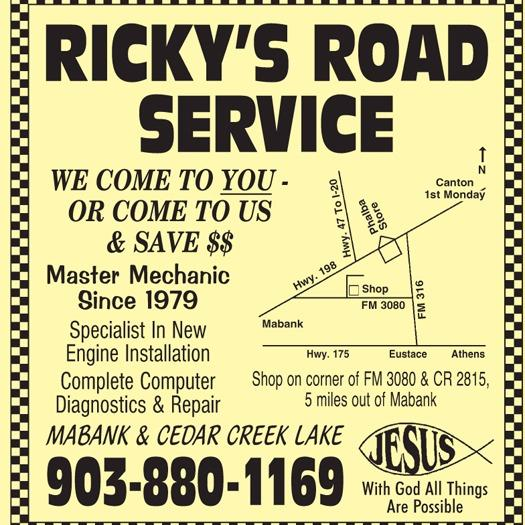 Ricky's Road Service