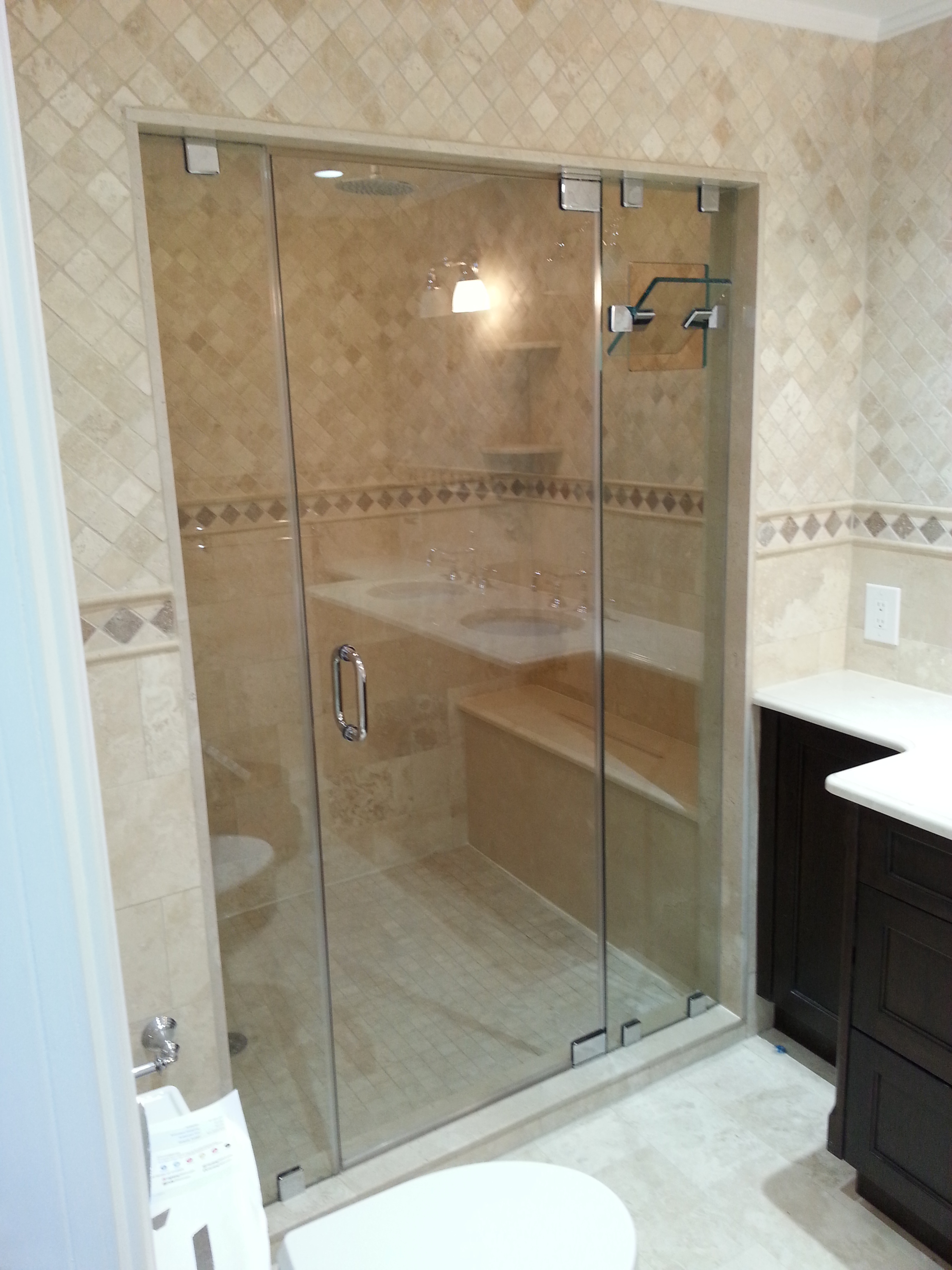 Great neck glass shower doors coupons near me in great for Glass shower doors near me