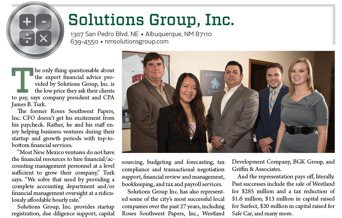 Solutions Group Inc.
