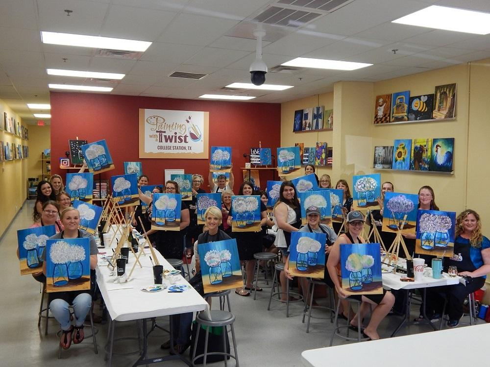 painting with a twist in college station tx 77840