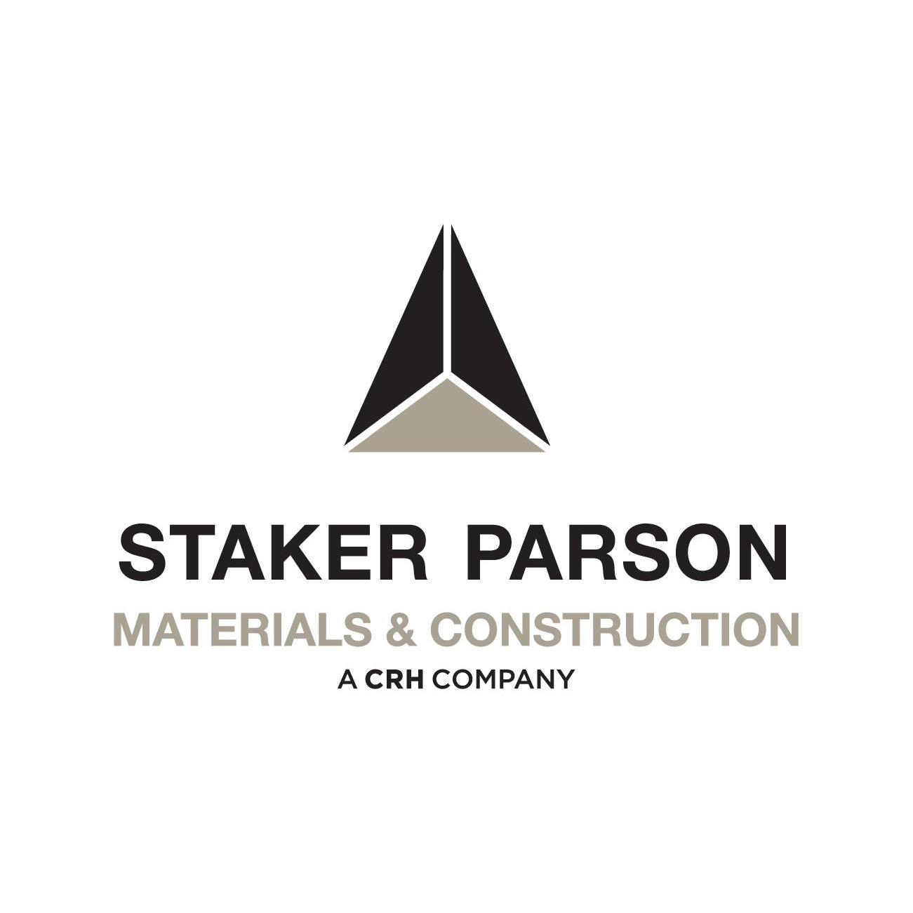 Staker Parson Materials & Construction, A CRH Company Logo