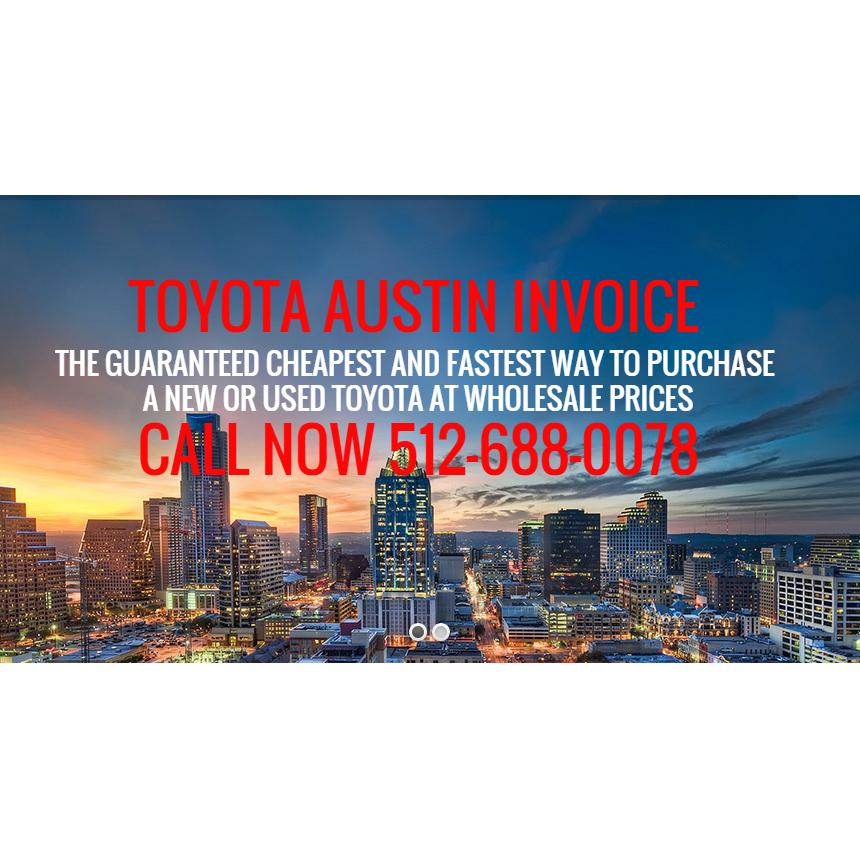 Toyota Austin Invoice