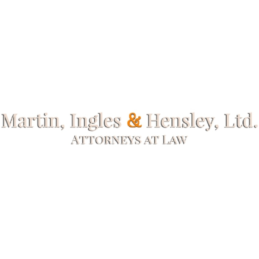 Martin, Ingles & Hensley, Ltd. Attorneys at Law