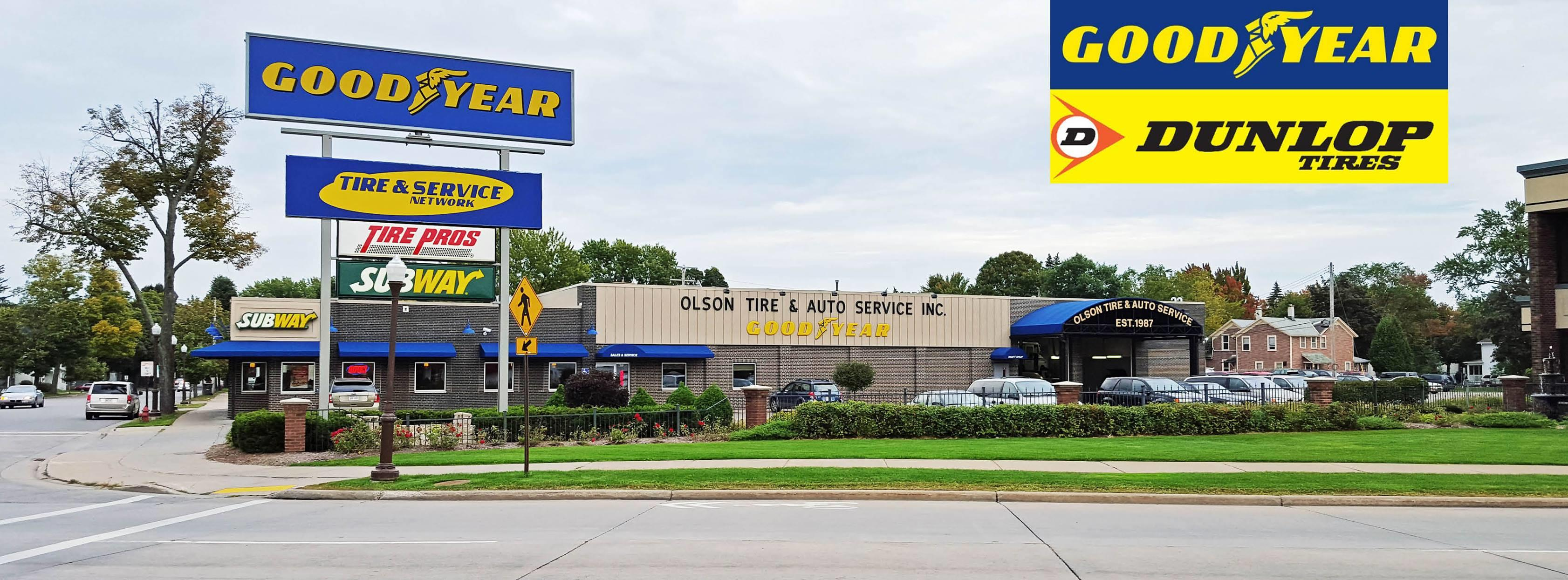 Olson Tire And Auto Service Inc Wausau Wisconsin Wi