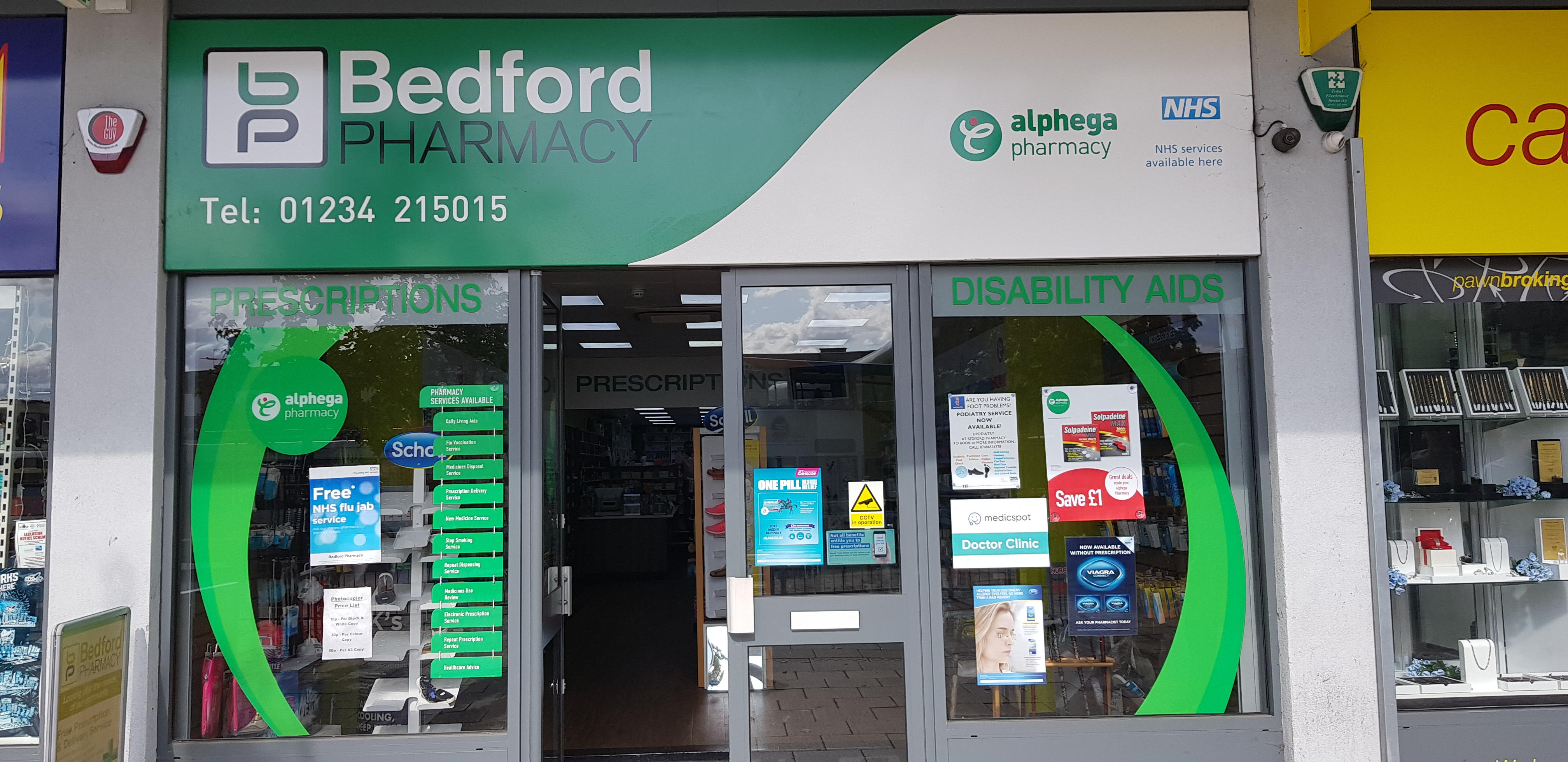Medicspot Clinic Bedford Town Centre