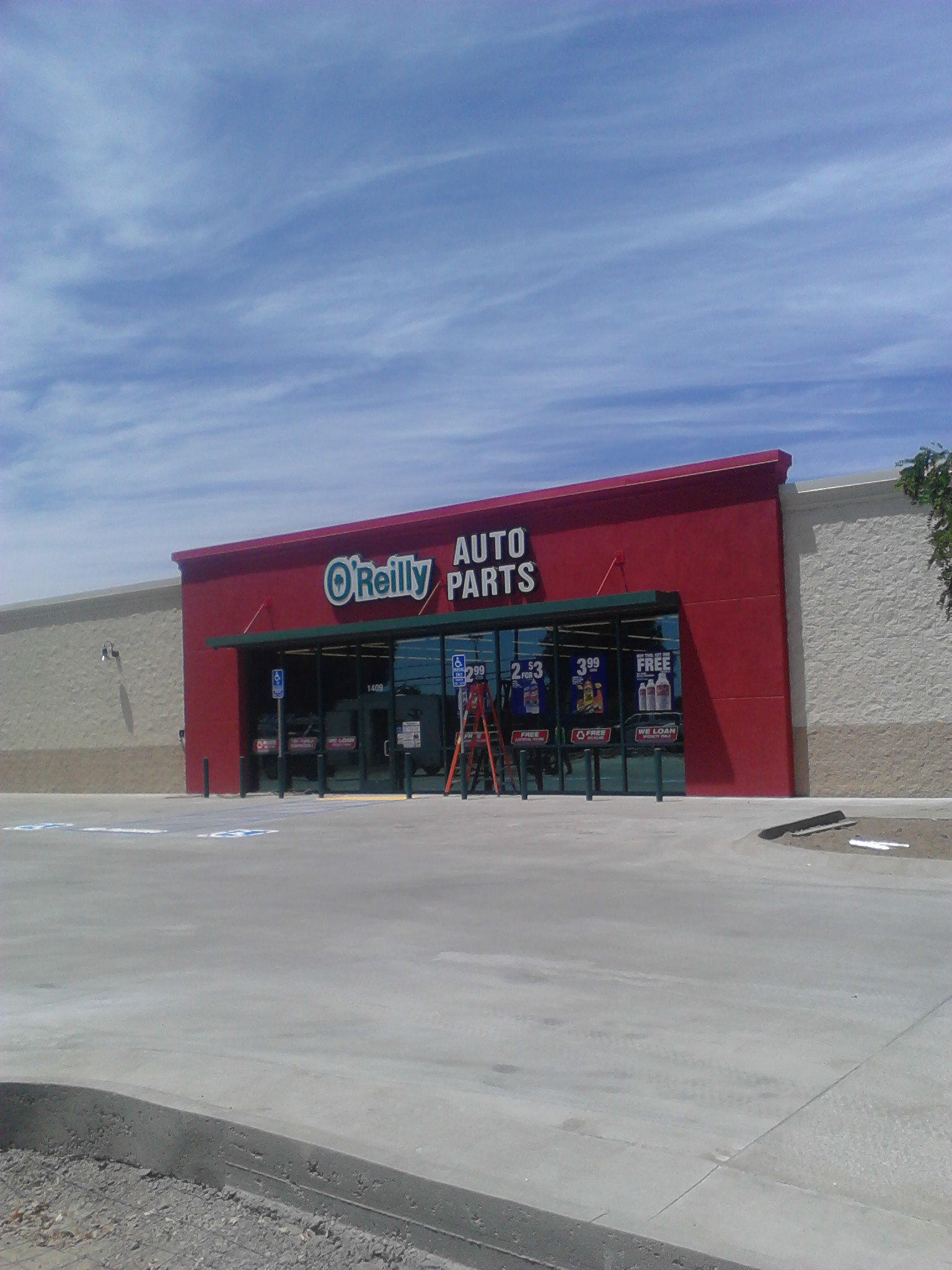 o 39 reilly auto parts in farmersville ca 93223. Black Bedroom Furniture Sets. Home Design Ideas
