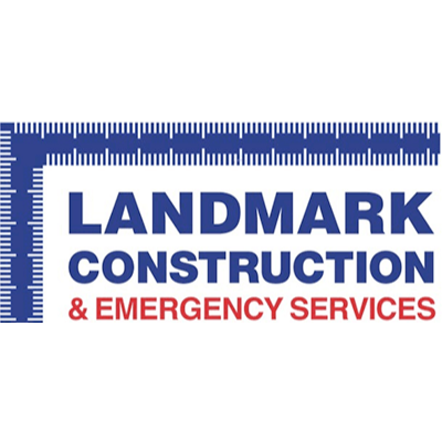 Landmark Construction & Emergency Services Logo
