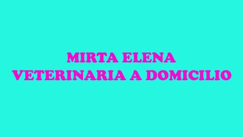 MIRTA ELENA VETERINARIA A DOMICILIO