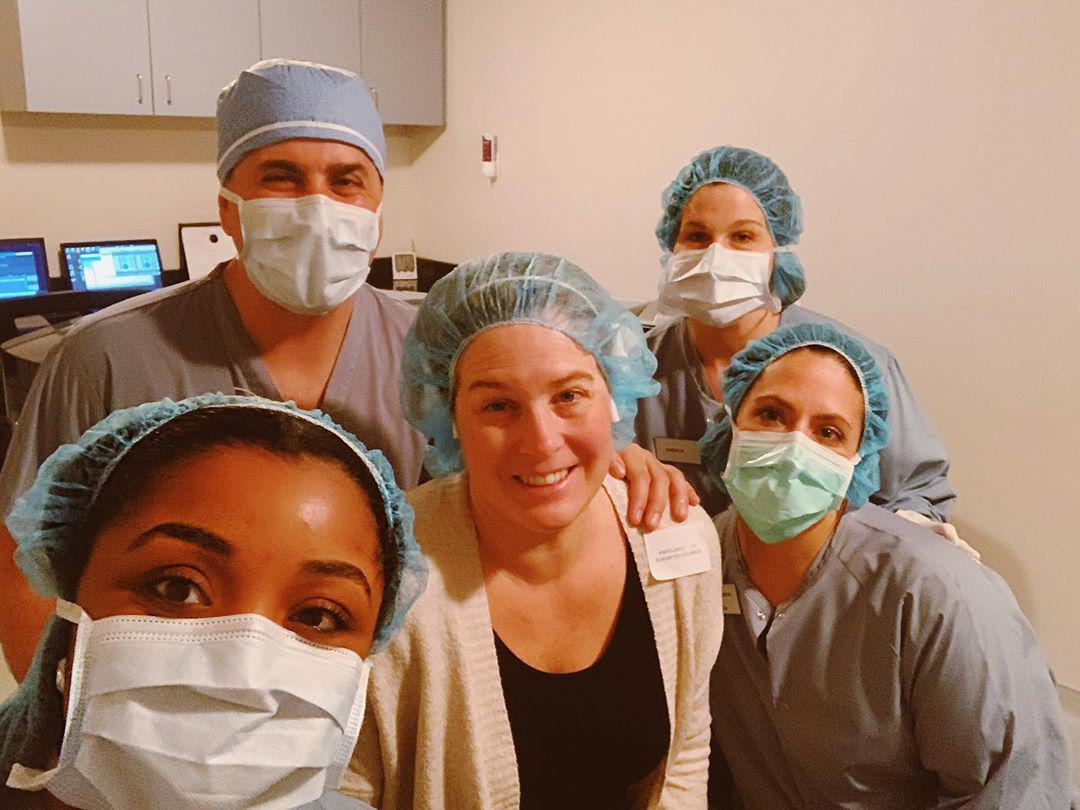 The Fraser Eye Care Center team poses with another happy patient after a successful procedure., , Eye Care Specialist