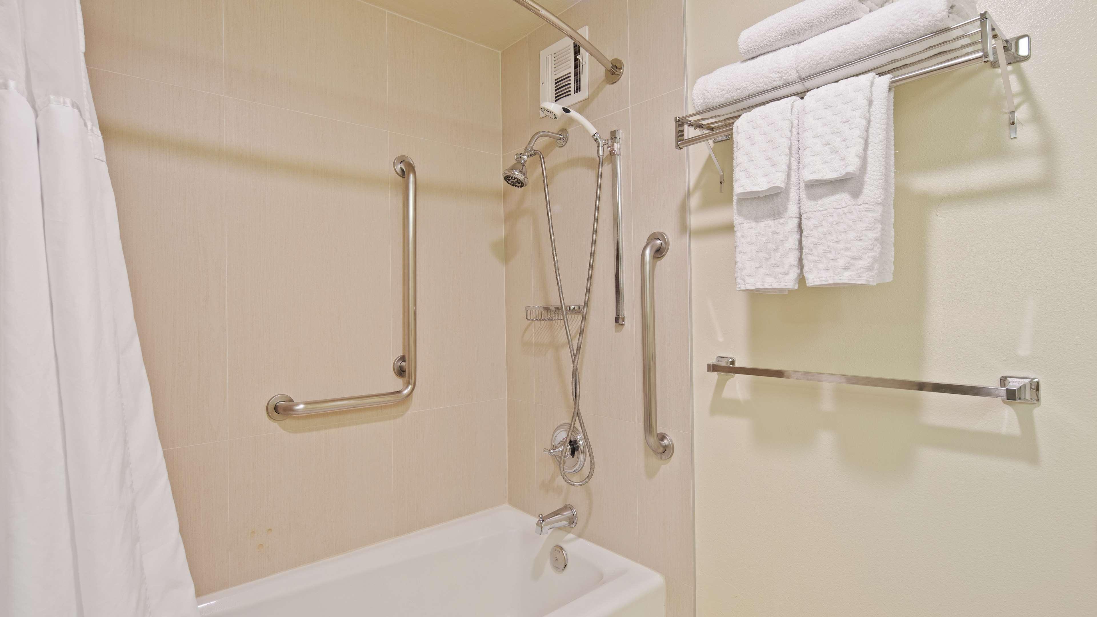 ADA Shower Tub Combo