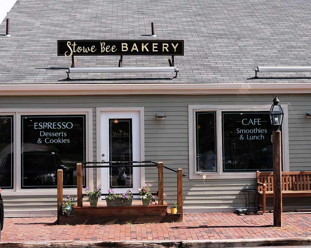 Stowe Bee Bakery Cafe Stowe Vt