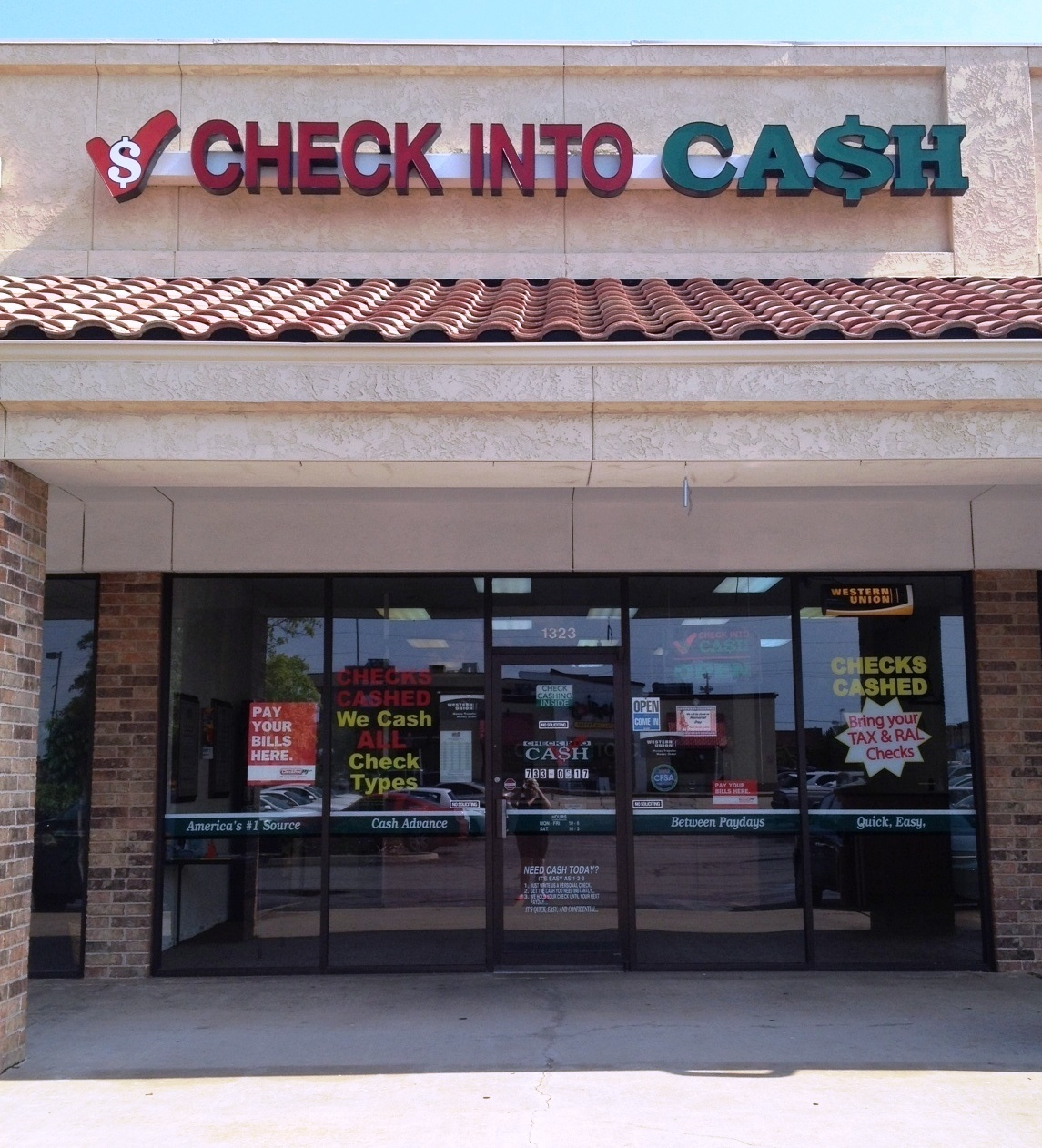 Buy Here Pay Here Okc >> Check Into Cash, Midwest City Oklahoma (OK) - LocalDatabase.com