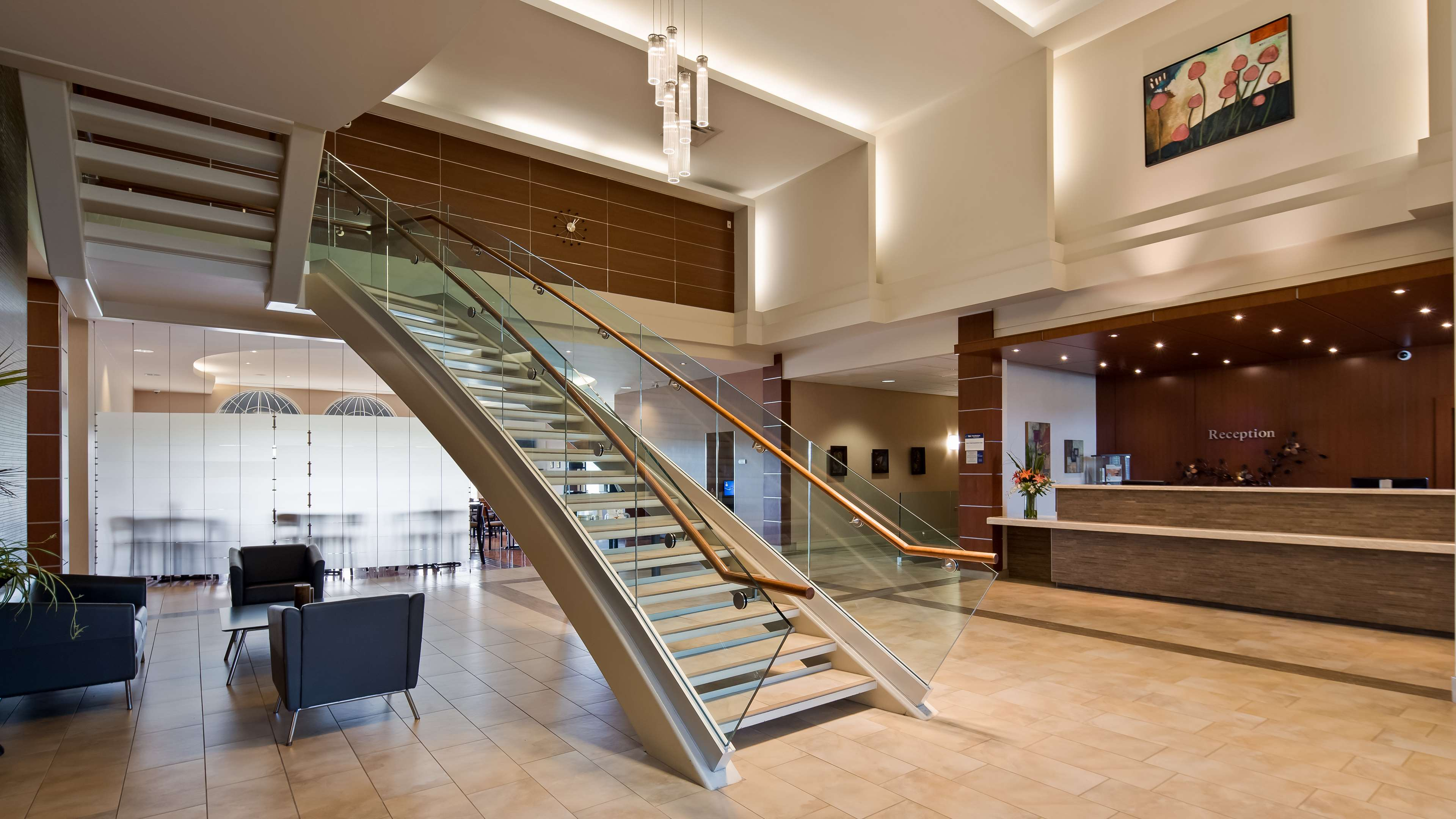 Hotel Lobby Best Western Plus Orangeville Inn & Suites Orangeville (519)941-3311