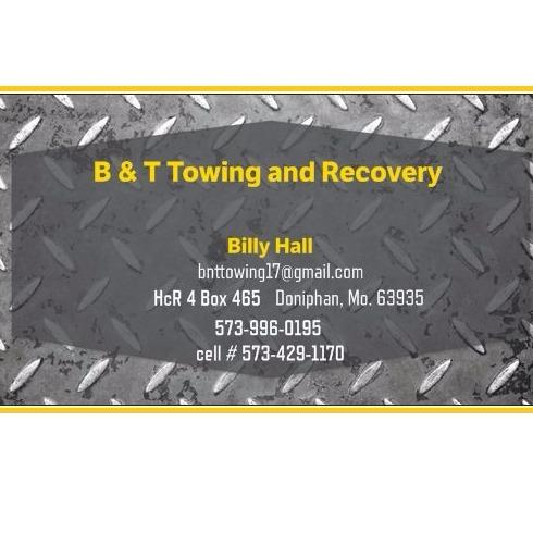 B & T Towing and Recovery