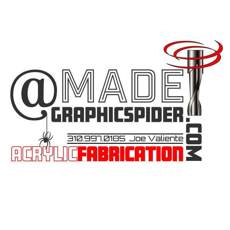 Graphic Spider / Custom Acrylic Fabrication