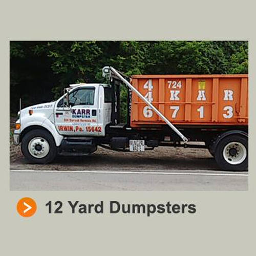 Karr Dumpster & Flatbed Service Inc - Irwin, PA - Debris & Waste Removal