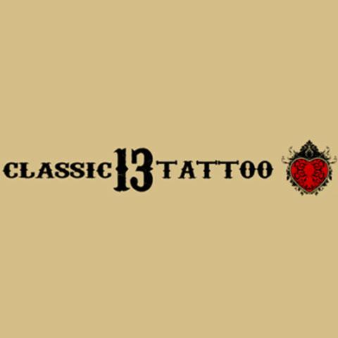 Classic 13 Tattoo