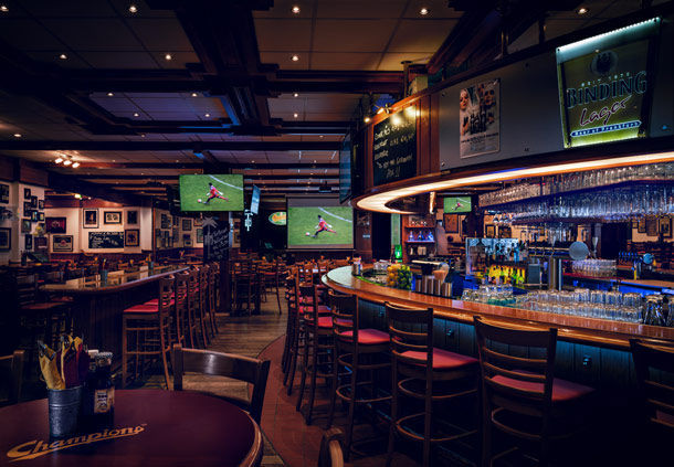 Champions The American Sports Bar Restaurant Frankfurt M