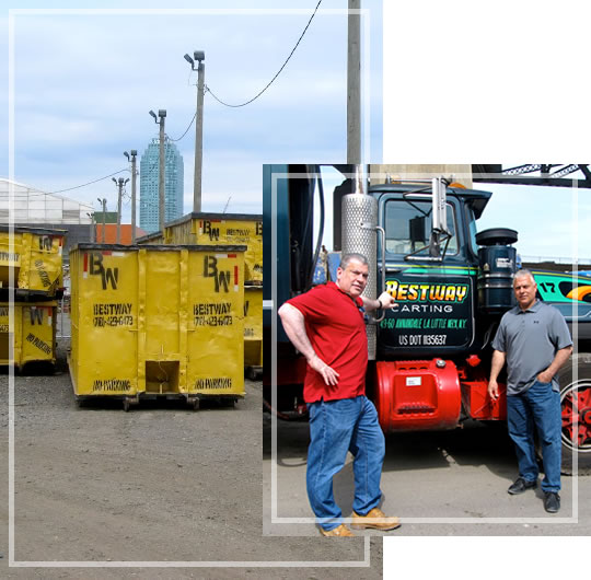 Call us today for Construction & Demolition Waste Removal
