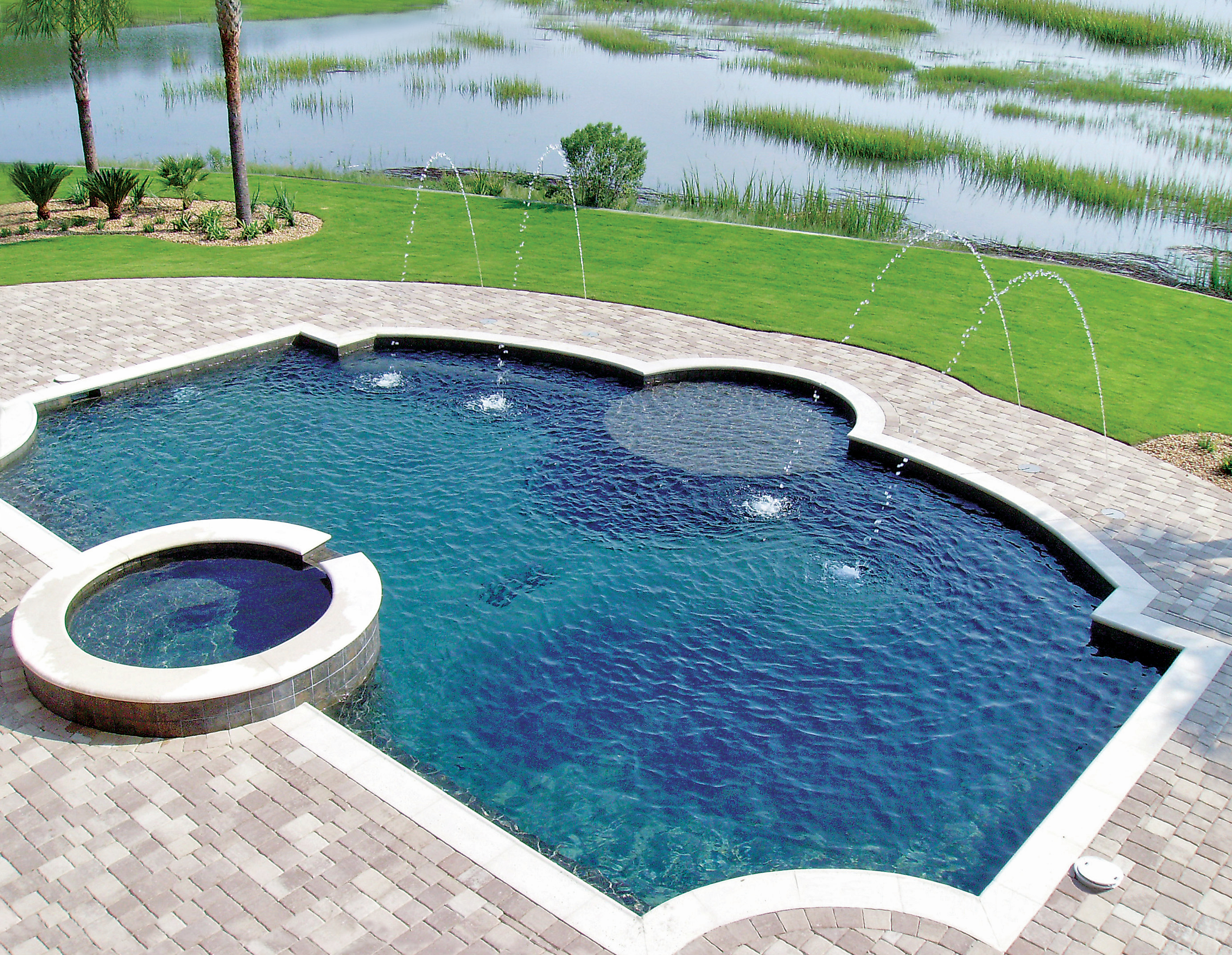 Blue haven pools spas in jacksonville fl 904 620 0 for Pool builders jacksonville