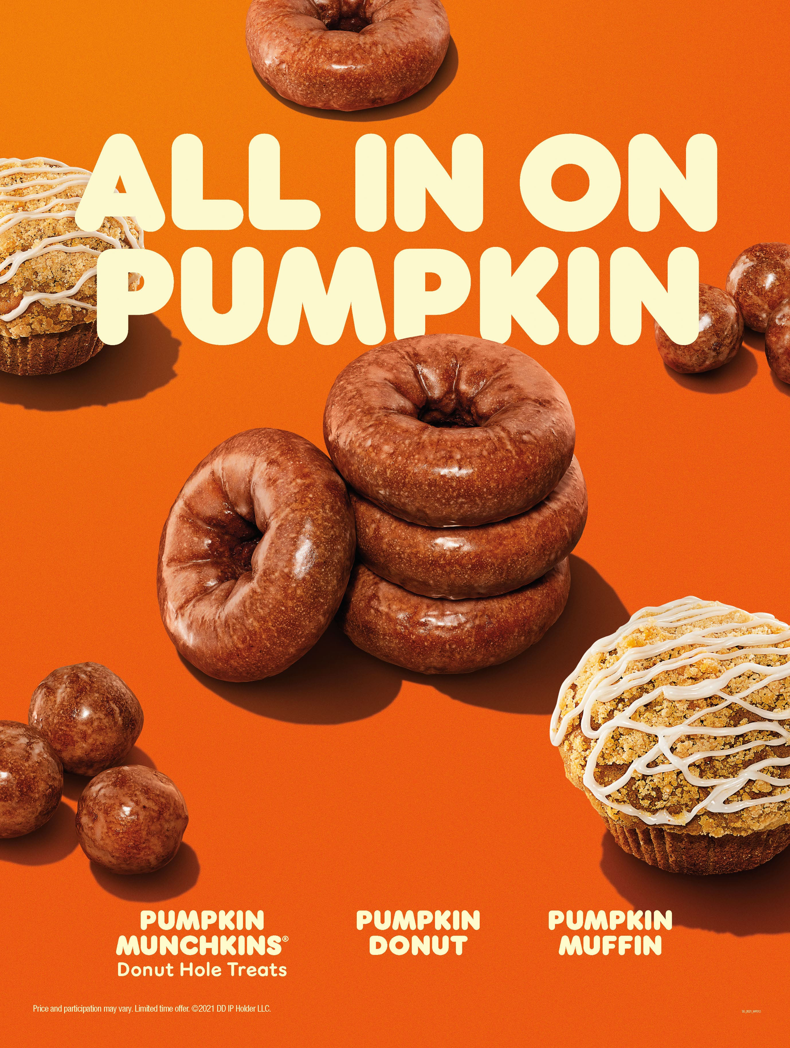 Pumpkin at Dunkin'