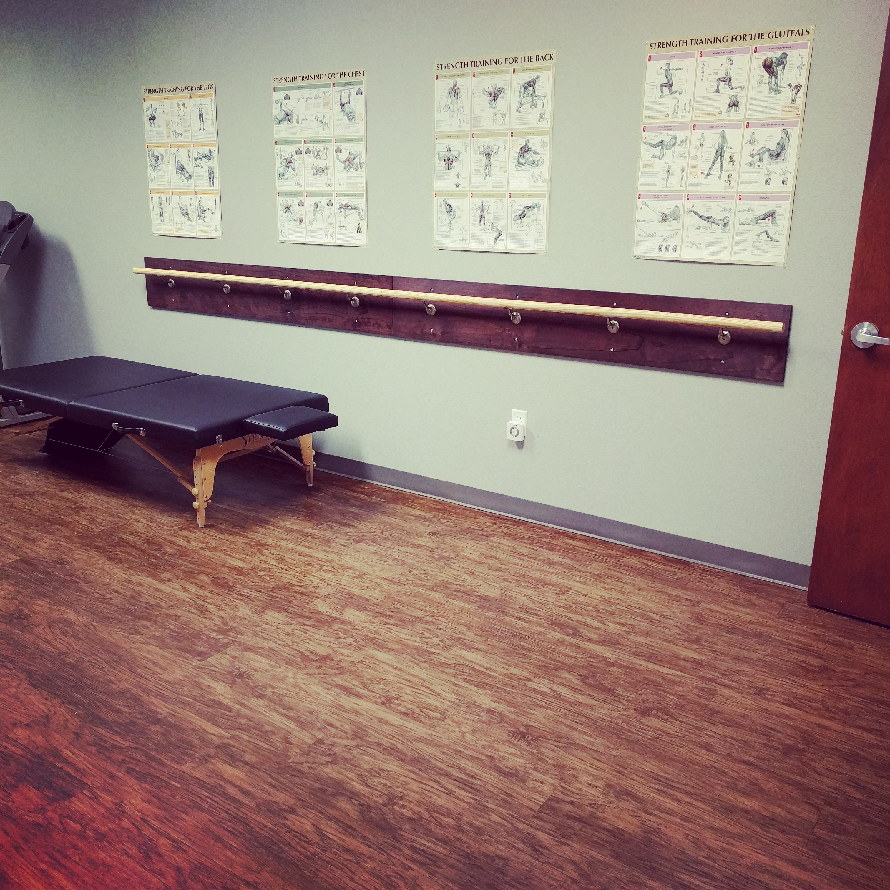 New Addition to Therapeutic Exercise Room