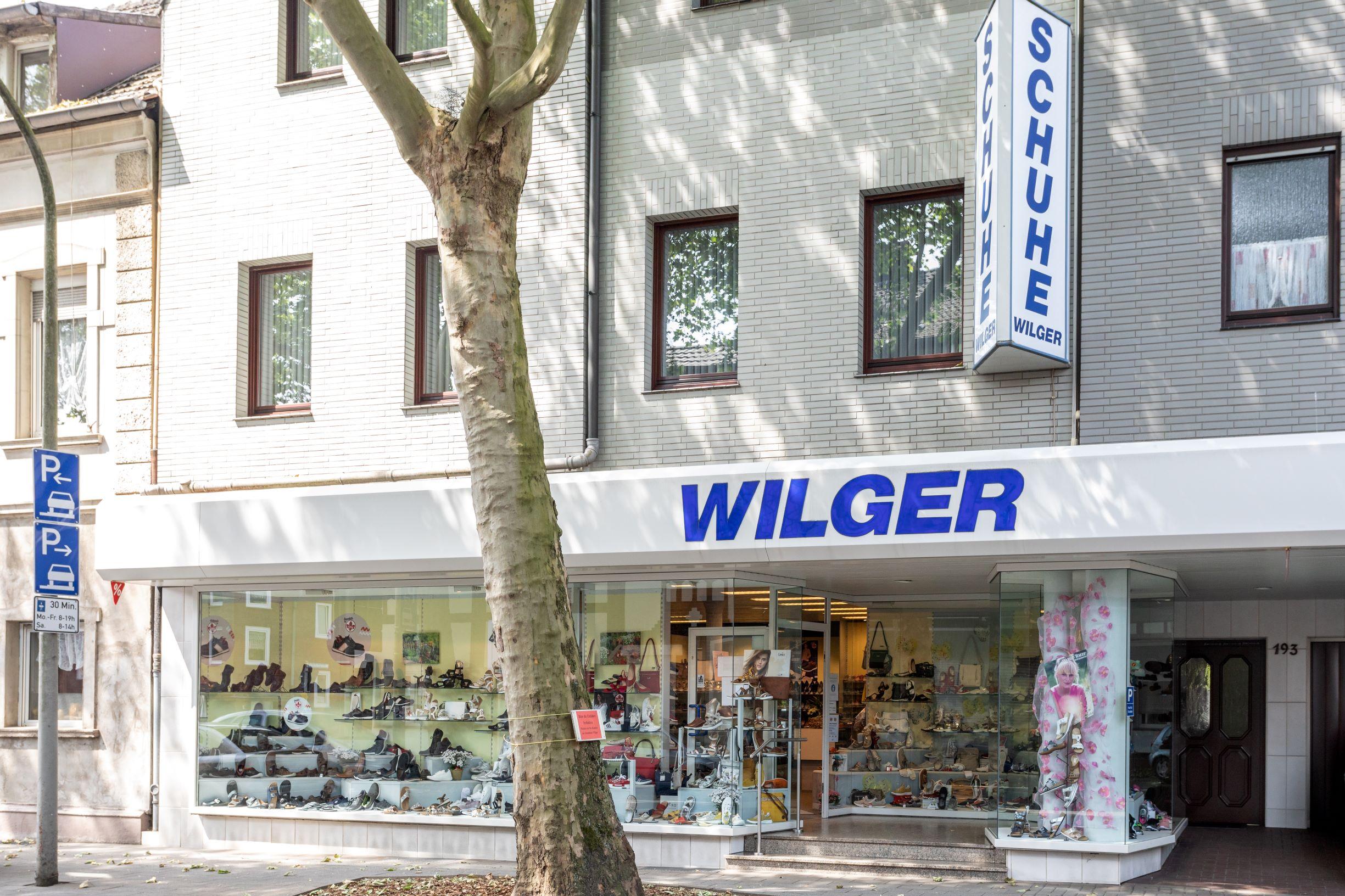 Schuhhaus Wilger Oberhausen, Bergstr. 193 in Oberhausen