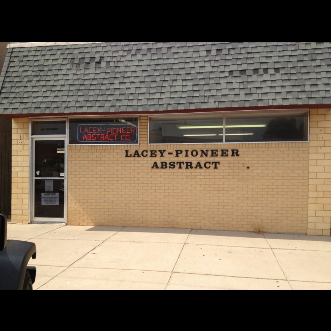 Lacey-Pioneer Abstract Company, Inc.
