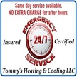 Tommy's Heating & Cooling LLC.