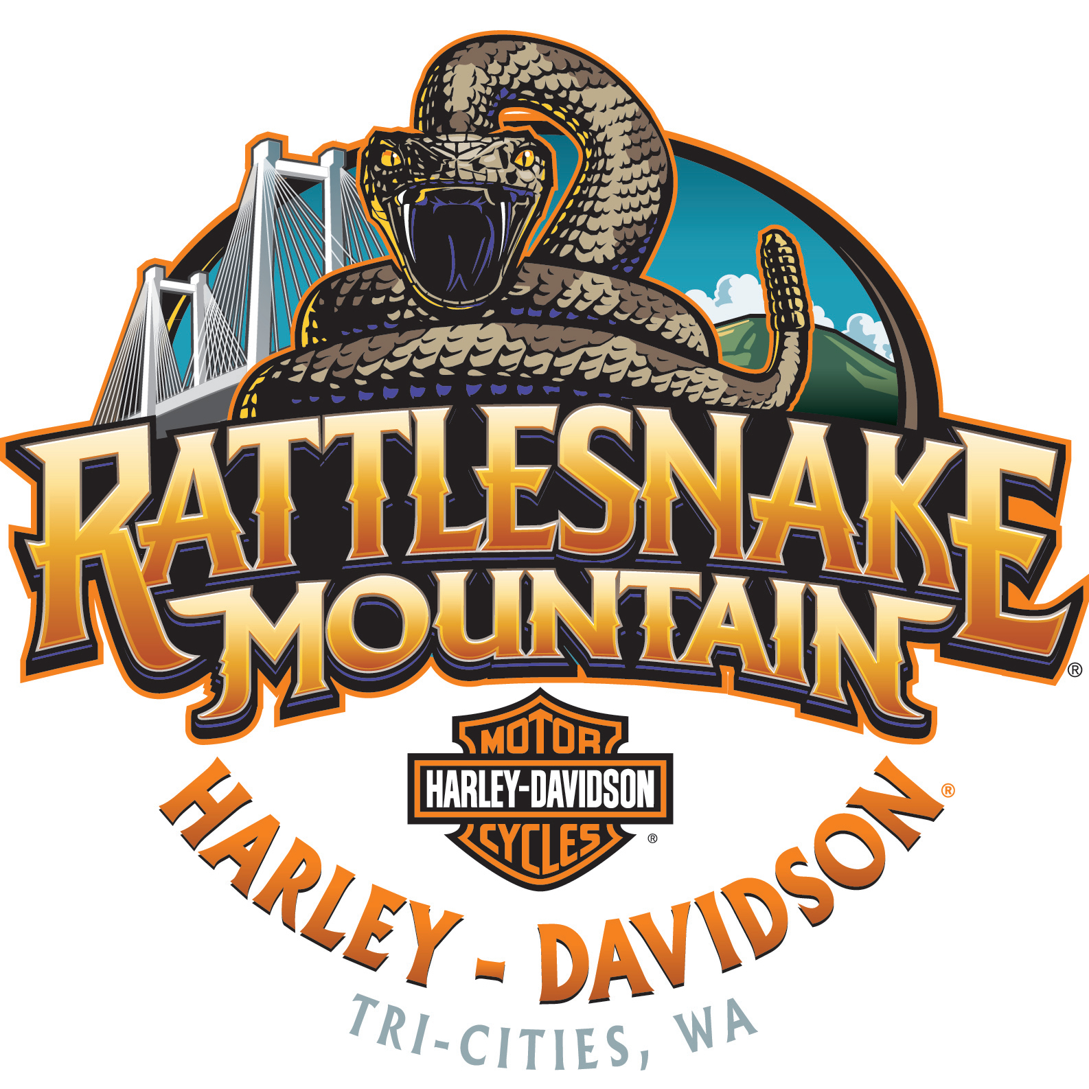 Rattlesnake mountain harley davidson in kennewick wa for Motor scooter dealers near me
