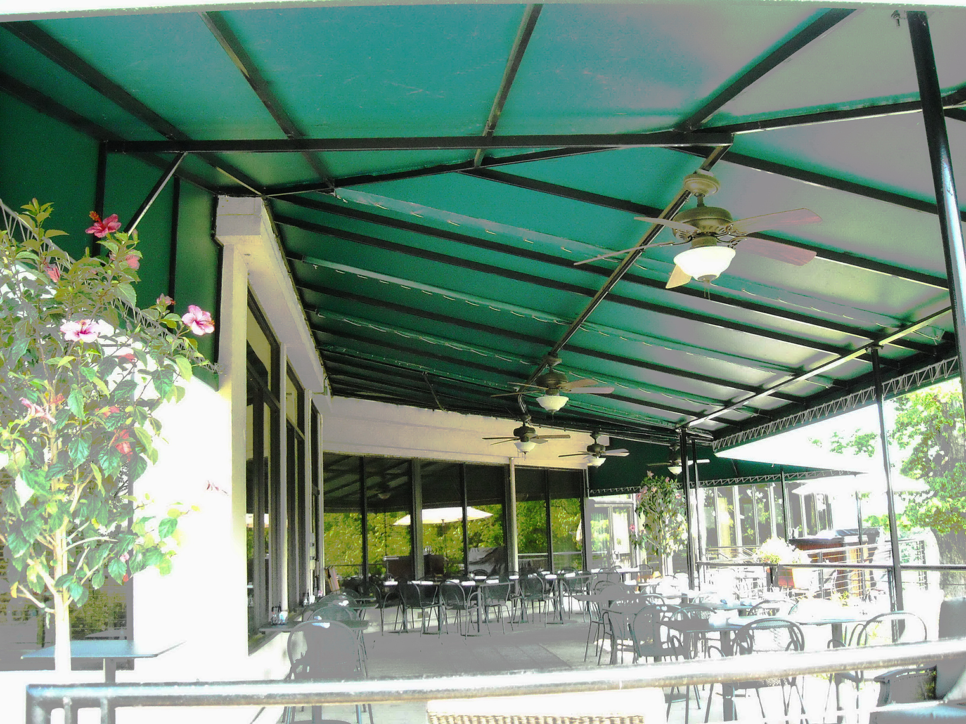 Call A. Hoffman Awning in Baltimore    Large Country Club Awning with Welded Frame