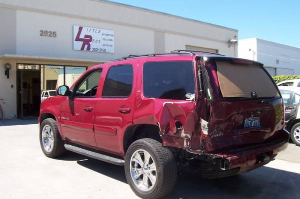 Little red 39 s automotive collision in san leandro ca 94577 for Bay city motors san leandro ca